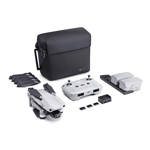 "DJI Mavic Air 2 Fly More Combo – Drohne mit 4K Video-Kamera in Ultra HD, 48 Megapixel Fotos, 1/2"" Zoll CMOS-Sensor, 34 Minuten Flugzeit, ActiveTrack 3.0, 3-Achsen-Gimbal – Grau von DJI"