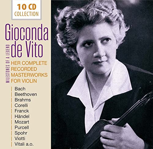 Gioconda de Vito - Her Complete Recorded Masterworks for Violin von DOCUMENTS