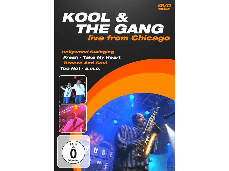 Kool & The Gang - LIVE FROM CHICAGO [DVD] von DVD