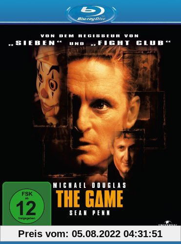 The Game [Blu-ray] von David Fincher
