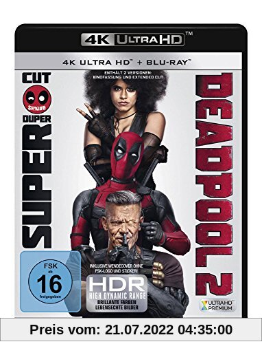Deadpool 2 [4K Ultra HD und Blu-ray] von David Leitch
