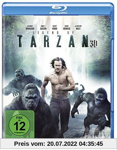 Legend of Tarzan [3D Blu-ray] von David Yates