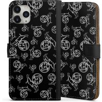 Apple iPhone 11 Pro Max - Sideflip with flap - Black and grey Pattern 1.FC von DeinDesign GmbH