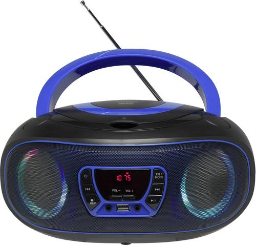 Denver TCL-212BT CD-Radio UKW AUX, CD, USB, Bluetooth® Stimmungslicht Blau von Denver
