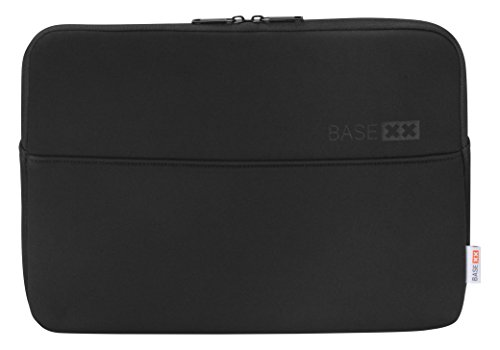 Dicota Base XX S 15.6 Black This Sleeve Made from Synthetic Neoprene surrounds Your Notebook Like a Second Skin. The Perfect-Fitting case Provides Protection Again Scratches and Minor Damage. von Dicota