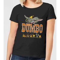 Dumbo The One The Only Damen T-Shirt - Schwarz - L - Schwarz von Disney