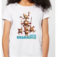 Vaiana (Moana) Fear The Kakamora Damen T-Shirt - Weiß - S - Weiß von Disney