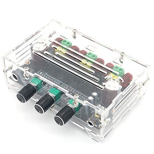 perfk Dual AC12V Digital Subwoofer Platine Vorverst/ärker Brett Integrierte Board Leistungsverst/ärker NE5532