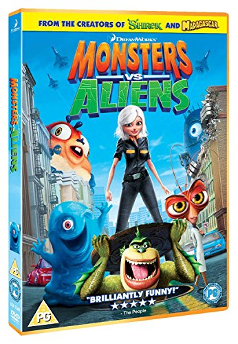 Monsters Vs Aliens [UK Import] von Dreamworks Home Entertainment
