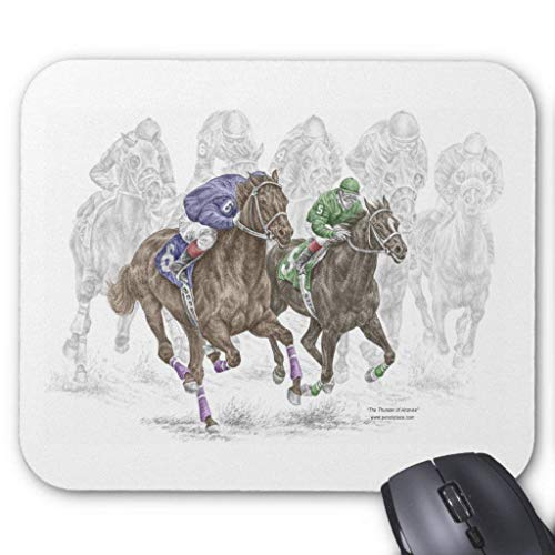 "Drempad Gaming Mauspads Custom, Galloping Race Horses Mouse Pad 11.8""*9.8"" von Drempad"