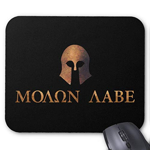 "Drempad Gaming Mauspads Custom, Molon Labe (Come and Get It) Mouse Pad 11.8""*9.8"" von Drempad"
