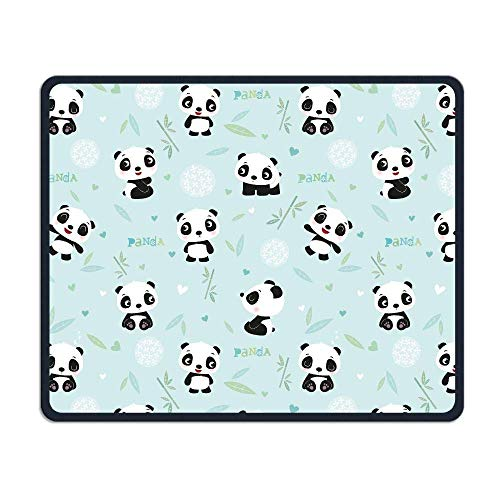 "Drempad Gaming Mauspads Custom, Mouse Pad Cartoon Cute Panda Pattern Rectangle Non-Slip 11.8""*9.8"" Inches Unique Designs Gaming Rubber Mousepad Stitched Edges Mouse Mat von Drempad"