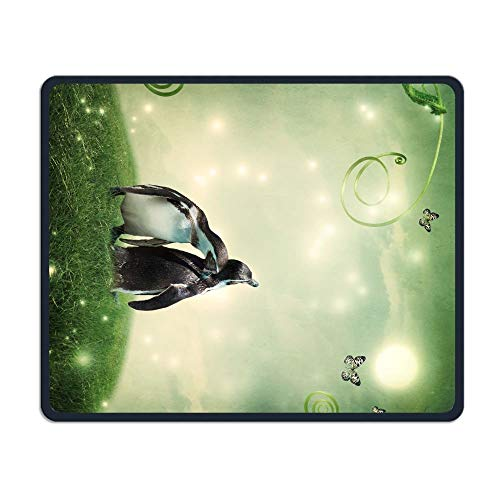 "Drempad Gaming Mauspads Custom, Mouse Pad Fantasy Green Grass Penguins Rectangle Non-Slip 11.8""*9.8"" Inches Personalized Designs Gaming Rubber Mousepad Stitched Edges Mouse Mat von Drempad"