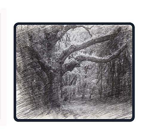 Drempad Gaming Mauspads Custom, Mouse Pad Magical Tree Customized Rectangle Non-Slip Rubber Mousepad Gaming Mouse Pad -11.8'X9.85' von Drempad