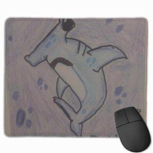 "Drempad Gaming Mauspads Custom, Mouse Pad Ocean Shark Crayon Art Rectangle Non-Slip 11.8""*9.8"" Inches Personalized Designs Gaming Rubber Mousepad Stitched Edges Mouse Mat von Drempad"