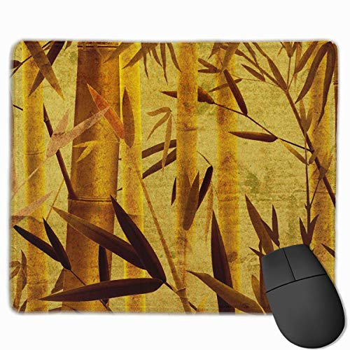 Drempad Gaming Mauspads Custom, Non-Slip Mouse Pads Rectangle Rubber Mousepad Bamboo Brown Print Gaming Mouse Pad von Drempad