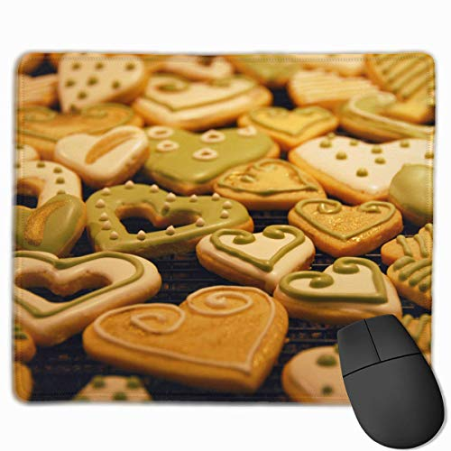 Drempad Gaming Mauspads Custom, Non-Slip Mouse Pads Rectangle Rubber Mousepad Biscuits Matcha Choco Print Gaming Mouse Pad von Drempad