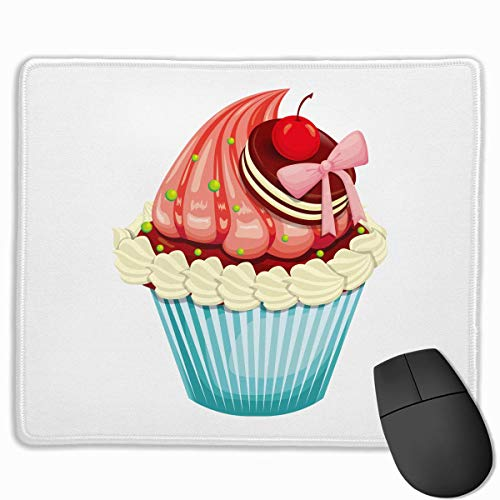 Drempad Gaming Mauspads Custom, Non-Slip Mouse Pads Rectangle Rubber Mousepad Cake Decor Print Gaming Mouse Pad von Drempad