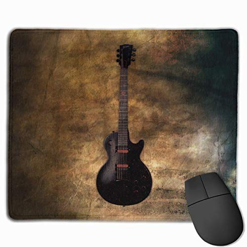 Drempad Gaming Mauspads Custom, Non-Slip Mouse Pads Rectangle Rubber Mousepad Musical Bass Print Gaming Mouse Pad von Drempad