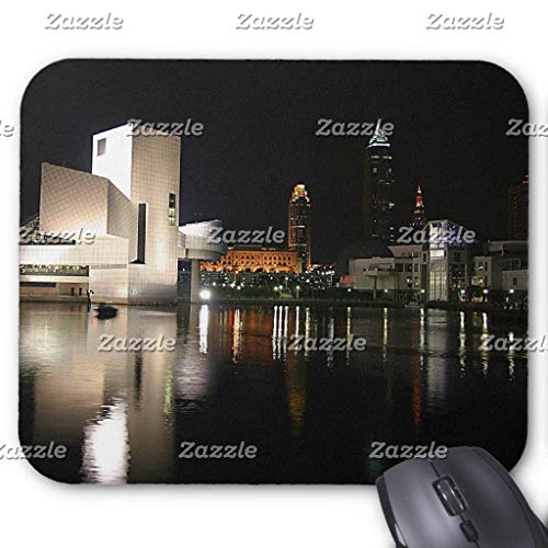 "Drempad Gaming Mauspads Custom, Rock and Roll Hall of Fame Cleveland Ohio Mouse Pad 11.8""*9.8"" von Drempad"