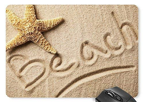 Drempad Gaming Mauspads Custom, Starfish Beach Beach Mouse Pad 11.8×9.8 inches Game Mouse Mat von Drempad
