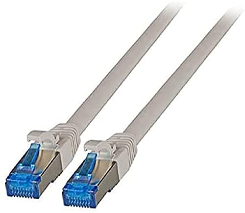 EFB RJ45 Patchkabel S/FTP, Cat.6A, Cat7 TPE Superflex, 0, 25m, GR von EFB-Elektronik