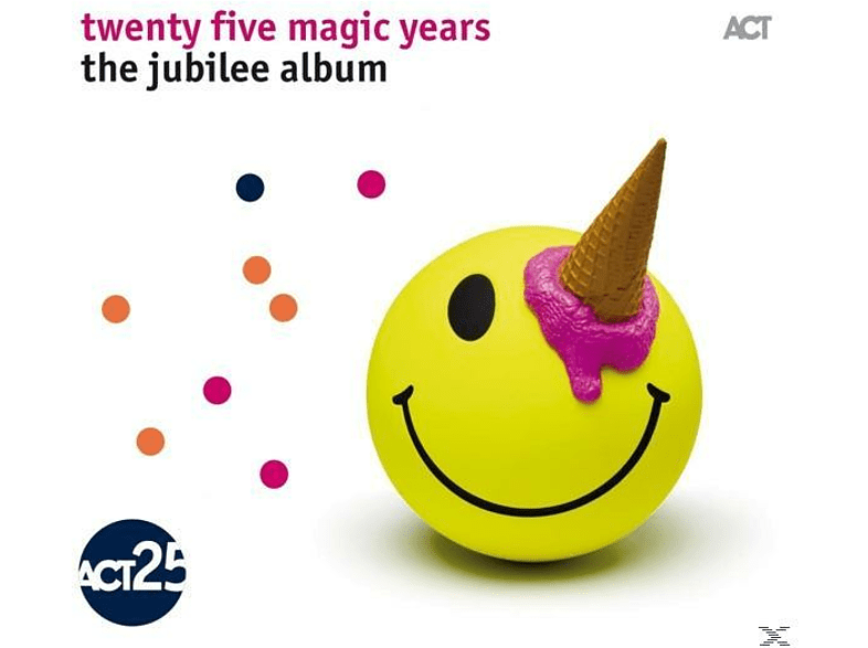 Diverse Jazz - Twenty Five Magic Years:The Jubilee Album [CD] von ACT