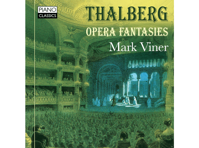 Mark Viner - Opera Fantasies [CD] von PIANO CLAS