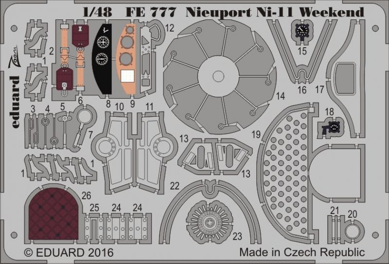 Nieuport Ni-11 - Weekend Edition [Eduard] von Eduard