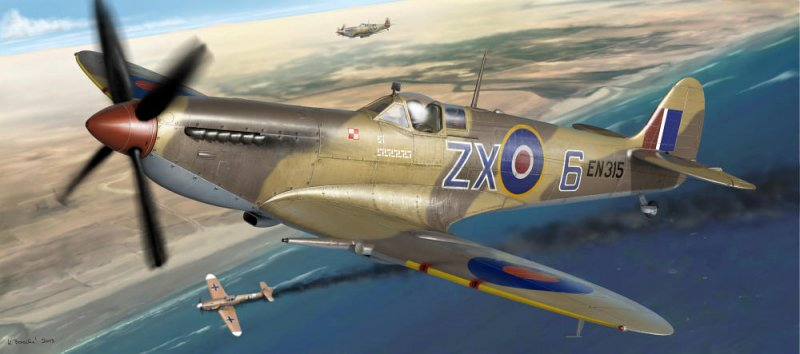 Spitfire Mk.IXc early version - ProfiPACK Edition von Eduard