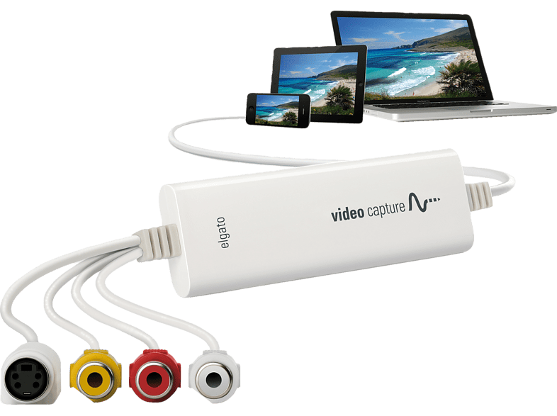 ELGATO Video Capture Adapter, Weiß von ELGATO