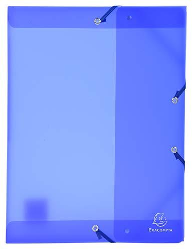 Sichtmappe aus PP mit 30 Hüllen Fizz A4 Blau