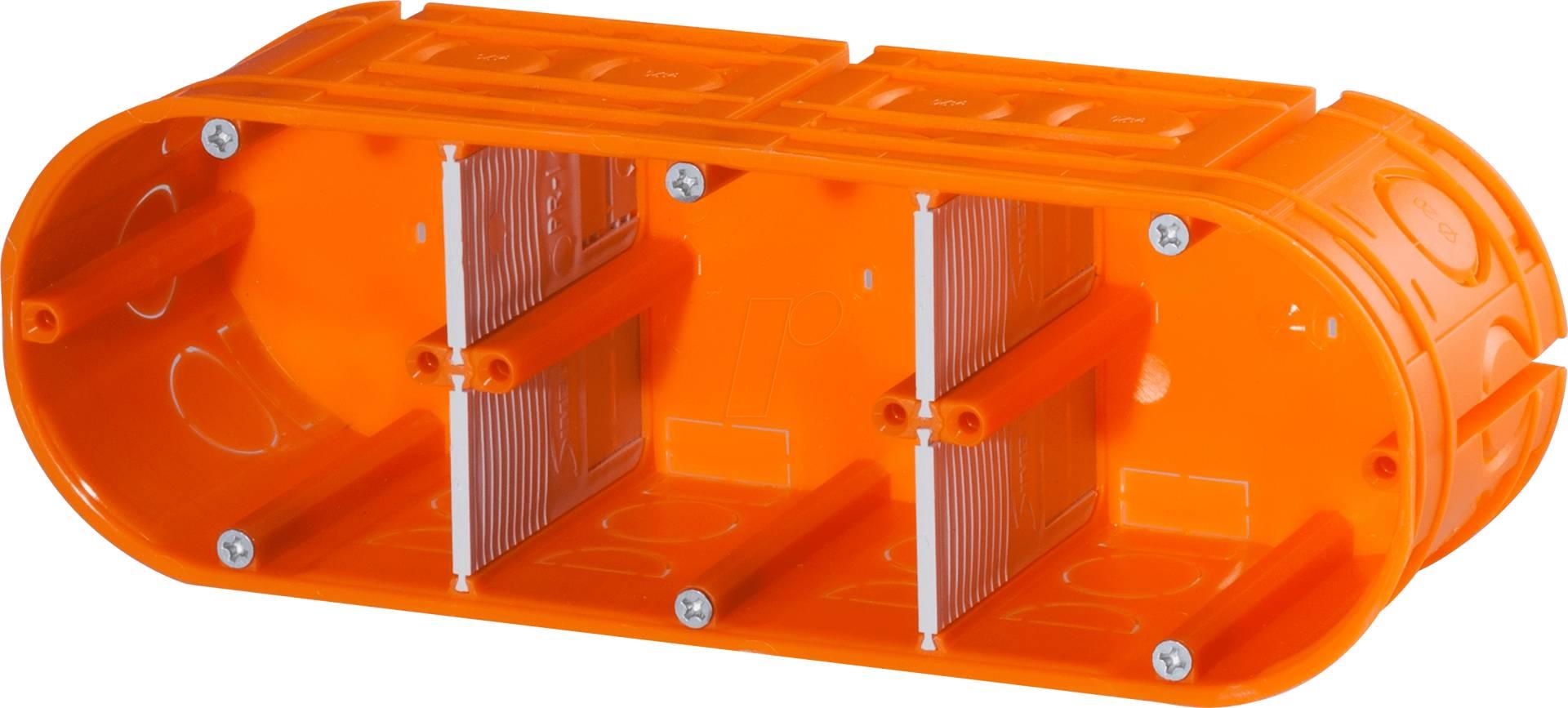 F-Tronic Unterputz-Gerätedose Mit Seitlichen Klemmräumen 10 St Inhalt E510