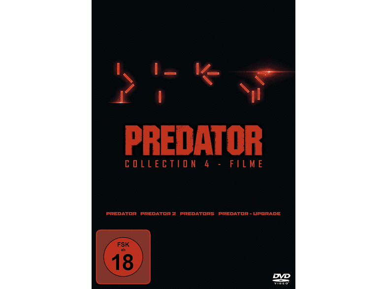 Predator Collection 1-4: Predator, 2, Predators, - Upgrade DVD von FOX