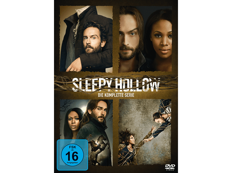 Sleepy Hollow - Die komplette Serie (Staffel 1-4) DVD von FOX