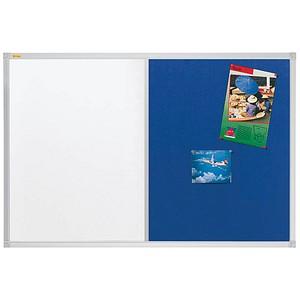 Franken SC2106 Schreibtafel lackiert wei/ß magnethaftend, Alurahmen mit Ablageleiste, 240 x 120 cm
