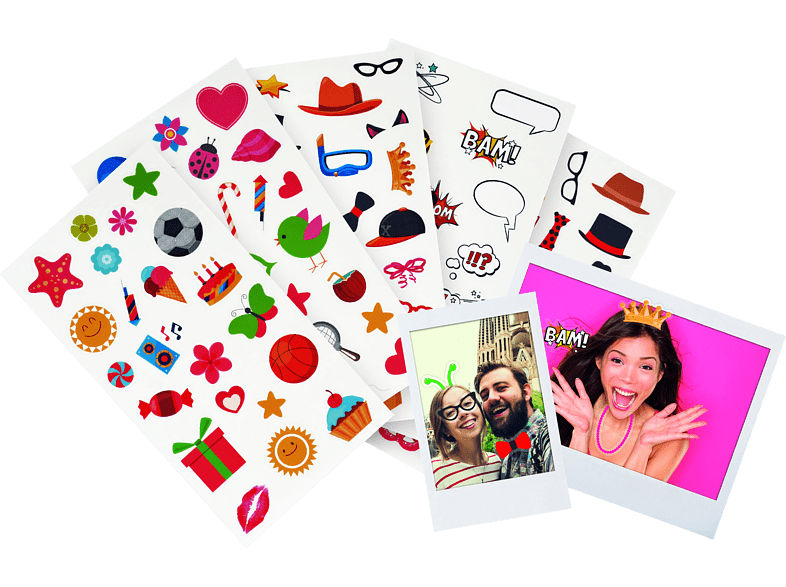 FUJIFILM 27818 Instax Fun Sticker Set in von FUJIFILM
