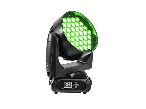 FUTURELIGHT EYE-37 RGBW Zoom LED Moving-Head Wash | PRO-Washlight mit RGBW-Farbmischung, sehr großem Zoombereich und Art-Net von FUTURELIGHT