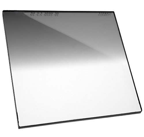 Formatt Hitech Glass 5x5 (127x127mm) Neutral Density Grad 0.9 Soft Edge (3 Stops) for Video, Broadcast and Film Production, Compatible with All 5x5 Matte Boxes von Formatt Hitech
