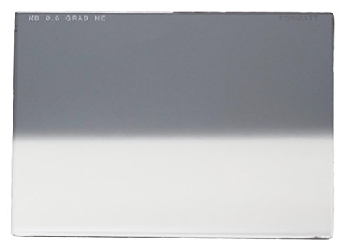 Formatt Hitech Glass 5x5 (127x127mm) Neutral Density Grad Hard Edge 0.6 (2 Stops) for Video, Broadcast and Film Production, Compatible with All 5x5 Matte Boxes von Formatt Hitech