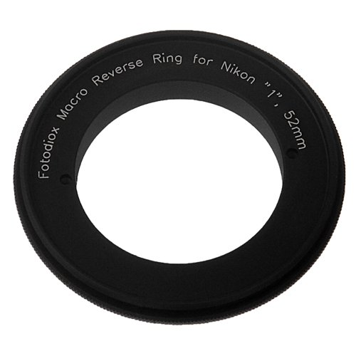 Fotodiox Macro Reverse Adapter Compatible with 52mm Filter Thread Lenses on Nikon 1-Mount Cameras von Fotodiox
