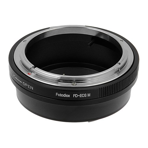 Fotodiox Lens Mount Adapter Compatible with Canon FD and FL Lenses on Canon EOS M EF-M Mount Cameras von Fotodiox