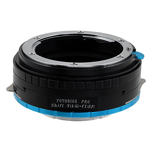 Fotodiox Pro Shift Lens Mount Adapter Compatible with Nikon F-Mount G-Type Lenses on Fujifilm X-Mount Cameras von Fotodiox
