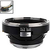 Fotodiox Pro TLT ROKR Tilt/Shift Lens Mount Adapter Compatible with Bronica SQ Lenses on Canon EOS EF and EF-S Cameras - with Gen10 Focus Confirmation Chip von Fotodiox
