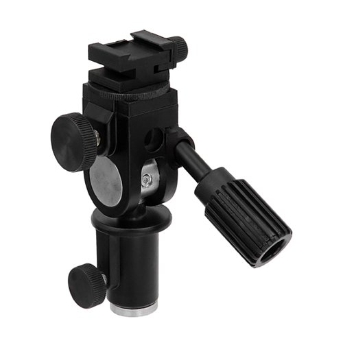 Fotodiox Ultra Heavy Duty Flash Umbrella Bracket with Swivel/Tilt Head, Mountable to Light Stand and Tripod-Fits Canon Flash Speedlite 600EX-RT, 580EX, 580EX II, 430EX, 430EX II, 380EX, 270EX, 270EX II, 540EX. 550EX, 300TL von Fotodiox