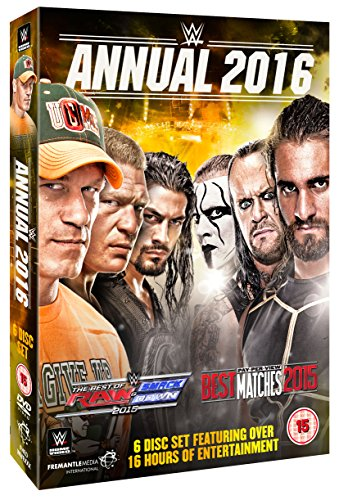 WWE: 2016 Annual [DVD] [UK Import] von Fremantle Home Entertainment