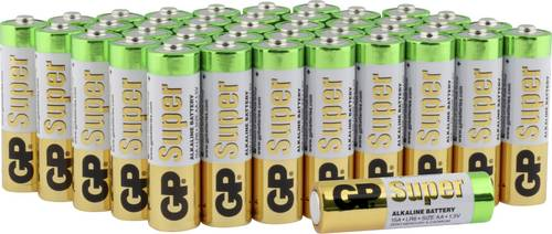 GP Batteries Super Mignon (AA)-Batterie Alkali-Mangan 1.5V 40St. von GP Batteries