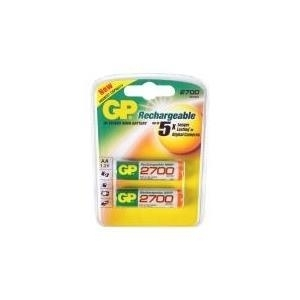 GP Batteries NiMH rechargeable batteries AA - Nickel Metall-Hydrid - Universal - AA - Mehrfarben - Sichtverpackung (120.270AAHCC2) von GP Batteries