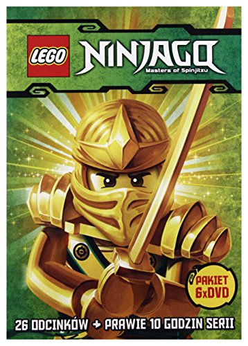 Ninjago: Masters of Spinjitzu [6 DVD Box] [PL Import] von Galapagos