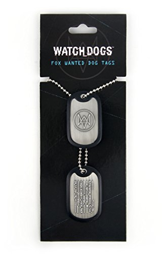 Watch Dogs Fox Wanted Dog Tags von Gaya Entertainment